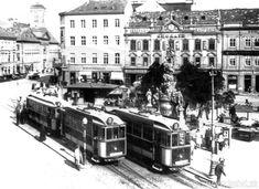 Bratislava, Old Photos, Street View, Nostalgia, Pictures, Trains, Old Pictures, Vintage Photos