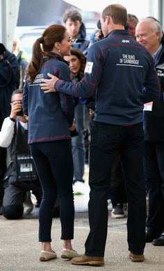 The Duke And Duchess Of Cambridge Attend The America's Cup World Series - July 26, 2015