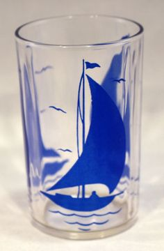 Swanky Swig 1 Tumbler in the Sailboat #1 pattern #Kraft