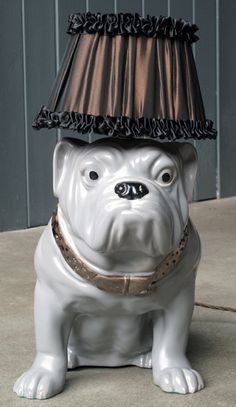 British Bulldog Lamp