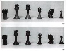 Piezas del conjunto original de Duchamp de 1918