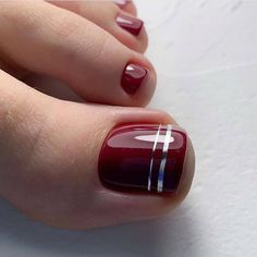Pin on Nails Pin on Nails Gel Toe Nails, Feet Nails, Toe Nail Art, Diy Nails, Pretty Toe Nails, Cute Toe Nails, Cute Acrylic Nails, Simple Toe Nails, Painted Toe Nails