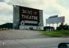 The old Drive-In Theatre between Clear Lake and Mason City, Iowa.  Many a night spent here! We would hide people in the trunk to get them in free (not that it would have cost that much anyway ;)