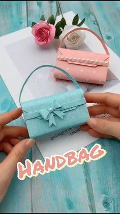 DIY Paper Handbag - Amazing Paper Craft Ideas