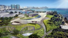 Hawaii unveils designs for Obama Presidential Centre bid.