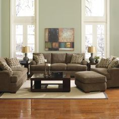new living room furniture?  ignore couch pillows..