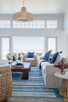 Luminous coastal-chic home offers a relaxed vibe in Beach Haven