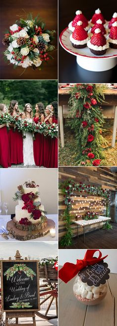 Christmas themed wedding ideas for winterYou can find Christmas wedding and more on our website.Christmas themed wedding ideas for winter Wedding Table, Fall Wedding, Our Wedding, Dream Wedding, Winter Themed Wedding, Winter Weddings, Wedding Vows, Wedding Reception, Wedding Dresses
