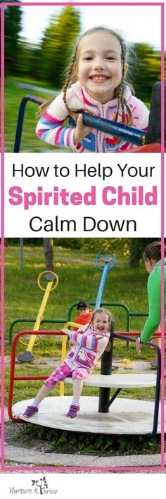 Great tip to help your high energy child reset and go on playing. Help your child play in a calm way without suppressing their excitement. How to help your highly spirited child calm down in a playful way! #spiritedchild #intensity #playfulparenting #positiveparenting via @nthrive