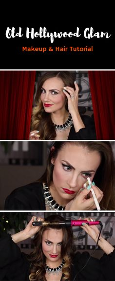 I'm obsessed with all thing Old Hollywood. Elizabeth Taylor, Rita Hayworth, Marilyn Monroe… I love all of the stars from the golden era! This look was so fun to create because it pays tribute to my favorite decade, the 1940's! Angela Lanter, Makeup Tutorial.