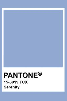 Azul Pantone, Paleta Pantone, Pantone Tcx, Pantone Blue, Pantone Colour Palettes, Pantone 2016, Pantone Color, Mood Colors, Wall Colors
