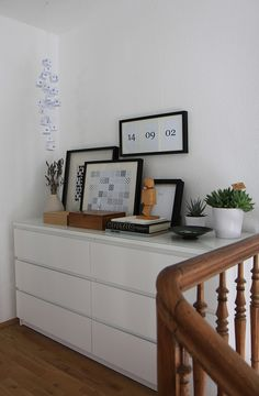 Also keeping our Ikea MALM dressers (we do love the MALM line) Room Makeover, Interior, Living Dining Room, Home Bedroom, Malm, Modern Bedroom Inspiration, Furniture Rehab, Home And Living, Brick Interior