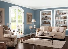 Front room paint ideas living room and hallway paint colors best Decor, Casual Living Rooms, Behr Paint, Interior, Living Room Paint, Paint Colors For Living Room, Home Decor, Colorful Interiors, Room