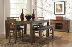 modern coastal round counter height dining set - Google Search