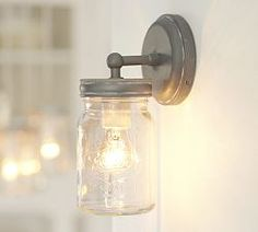 Wall Sconces, Wall Lamps, Wall Lighting & Reading Lamps | Pottery Barn diy