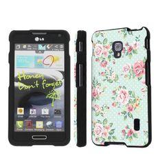 SkinGuardz Designer Black Hard Case for LG Optimus F6 D500 - (Mint Roses), http://www.amazon.com/dp/B00G70L7V8/ref=cm_sw_r_pi_awdm_4dlLtb1DVEX56