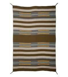 GADE CHIEF BLANKET ocean/ mole (2008) by D. Bryant Archie   hand woven, 100% baby alpaca  approx. 59x79