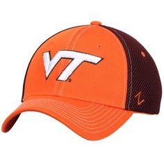 separation shoes 486e1 2862a Virginia Tech Hokies Zephyr Rally Flex Hat - Orange Maroon