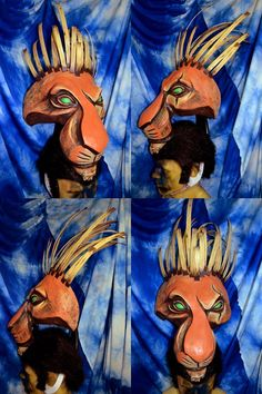 Scar Lion King Musical head by temperance.deviantart.com