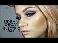 Makeup tutorial using Urban Decay Electric Palette Beauty Makeup, Eye Makeup, Hair Makeup, Samantha Ravndahl, Urban Decay Electric Palette, Eyeshadow Looks, To Youtube, Beauty Hacks, Beauty Tips