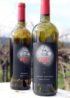 Peju Winery.  My favorite cab by far!  Even though I have to drive 20 miles to get it!  So delicious!!!