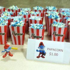 Smurf movie night inspiration