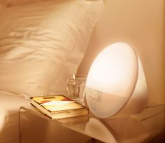 Wake-up light are a great way to deal with the winter blues and wake up feeling calm and ready to face the day. Instead of waking with a sudden jolt from a normal alarm, wake up slowly with a sunrise simulator right there in your bedroom.