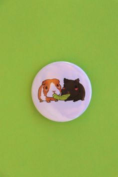 Guinea pig, Guinea pig pin, pin, badge, pinback button, gift Cute Guinea Pigs, Pin Pin, Brighten Your Day, Badge, Things To Come, Button, Gifts, Presents