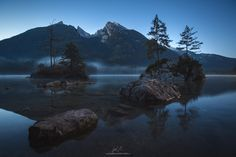 """Morning Comes - took this shot very early in the morning together with michael böhmlander. this beautiful lake is called hintersee, bavaria, germany.  if you like it, follow me on  <a href=""""http://www.facebook.com/guerelsahinpictures"""">FACEBOOK</a> <a href=""""https://instagram.com/guerelsahinpictures/"""">INSTAGRAM</a> <a href=""""http://www.guerelsahinpictures.com"""">WEBSITE</a> <a href=""""http://www.pinterest.com/guerelsahin/"""">PINTEREST</a>"""