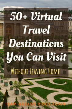 Can't travel right now? We've collected virtual tours of tourist destinations from around the world. Virtual Travel, Virtual Tour, Adventure Tours, Adventure Travel, Virtual Field Trips, Free Vacations, Need A Vacation, Staycation, Travel Destinations