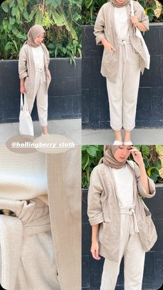 Casual Hijab Outfit, Casual Outfits, Ootd Hijab, Fashion Outfits, Modest Work Outfits, Simple Outfits, Best Online Clothing Stores, Moslem Fashion, Hijab Style Tutorial