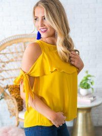 Rose All Day Shift Top in Mustard Casual Dresses, Fashion Dresses, Sewing Blouses, Tunic Designs, Summer Shirts, Girls Night Out, Skirt Outfits, Dame, Clothes