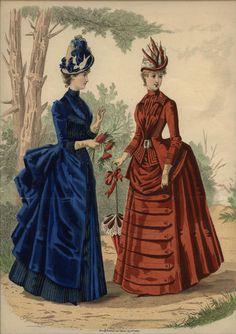 LA MODE ILLUSTREE  ...  dated September 5, 1886