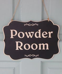 Items Similar To Powder Room Sign For Home Decor, Laundry Room Sign, Wood Bathroom  Sign Made With NON TOXIC Vinyl Made In The USA On Etsy