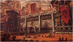 World of Warcraft art by Osp at deviantArt - Orgrimmar: Horde Territory. For the Alliance! Er... I mean, For the Horde!
