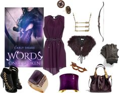 Words Once Spoken - http://myfashionobsessedlookbook.blogspot.com/2013/11/book-looks-8-words-once-spoken-by-carly.html