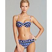 Nanette Lepore Saint Etienne Coquette Bikini Top & Saint Etienne Doll Bottom