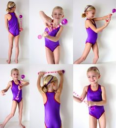 Sewing with spandex for the little gymnast | MADE. DIY leotard!