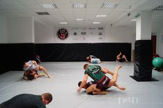 The project for BJJ Zgorzelec club aimed for transforming previously located there fitness club into Brazilian Jiu-Jitsu gym. First we removed mirrors (a threat to trainees) and unified the colors. 100m2 of the floor and the walls is now protected with a grey and black mat matching the colors of the club. Simple in design room...  Read more »
