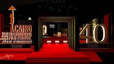 Render Design, Visual Merchandising Displays, Photo Booths, International Film Festival, Art Director, Autocad, Cairo, Exhibit, Landscape Design