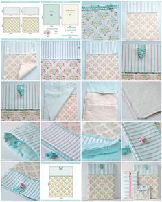 Best 12 DIY pretty ipad cover sewing tutorial by Torie Jayne Small Sewing Projects, Sewing Hacks, Sewing Tutorials, Sewing Crafts, Coin Purse Tutorial, Tablet Cover, Ipad Sleeve, Fabric Bags, Sewing Accessories