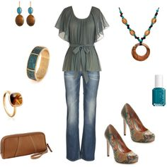 I really like this - the shape - thinking of different colors for blouse - but also like the grey:) <3shoes