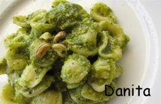 Le leccornie di Danita: Orecchiette al pesto di piastcchi