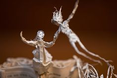 Scotland's secret book sculptures - in pictures