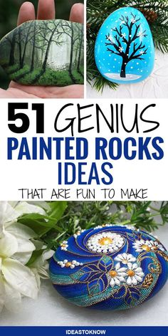 Diy Crafts Hacks, Diy Crafts For Kids, Crafts To Sell, Rock Painting Ideas Easy, Rock Painting Designs, Pebble Painting, Stencil Painting, Creative Ideas, Diy Ideas