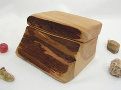Juniper Wood Box, Oregon High Desert, wedding, cuff links box, wedding rings box, groom gift, ring bearer box, wood jewelry box, engagement by earnestefforts on Etsy Dark Wood Living Room, White Wood Table, Juniper Wood, Ring Bearer Box, Wood Bar Stools, Wood Pallet Signs, Holiday Market, Wedding Ring Box, Gifts For Nature Lovers