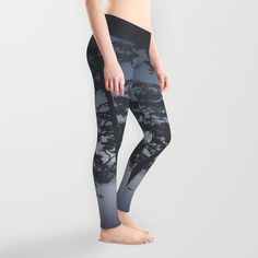 Good morning beautiful Leggings by HappyMelvin | Society6