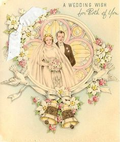 Vintage Wedding Cards, Vintage Greeting Cards, Anniversary Cards, Printable Art, Printables, Fall Wedding, Wedding Ideas, Princess Zelda, Fictional Characters