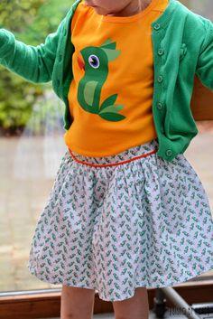 sisko by Mieke: Parrot Skirt