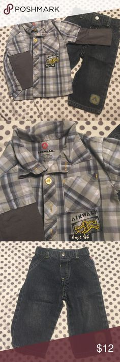 🎉just reduced🎉Boys matching jeans outfit In excellent condition Airwalk Matching Sets